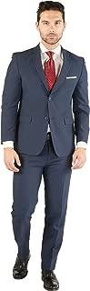 Paul Lorenzo Mens Slim Fit 2pc Suit