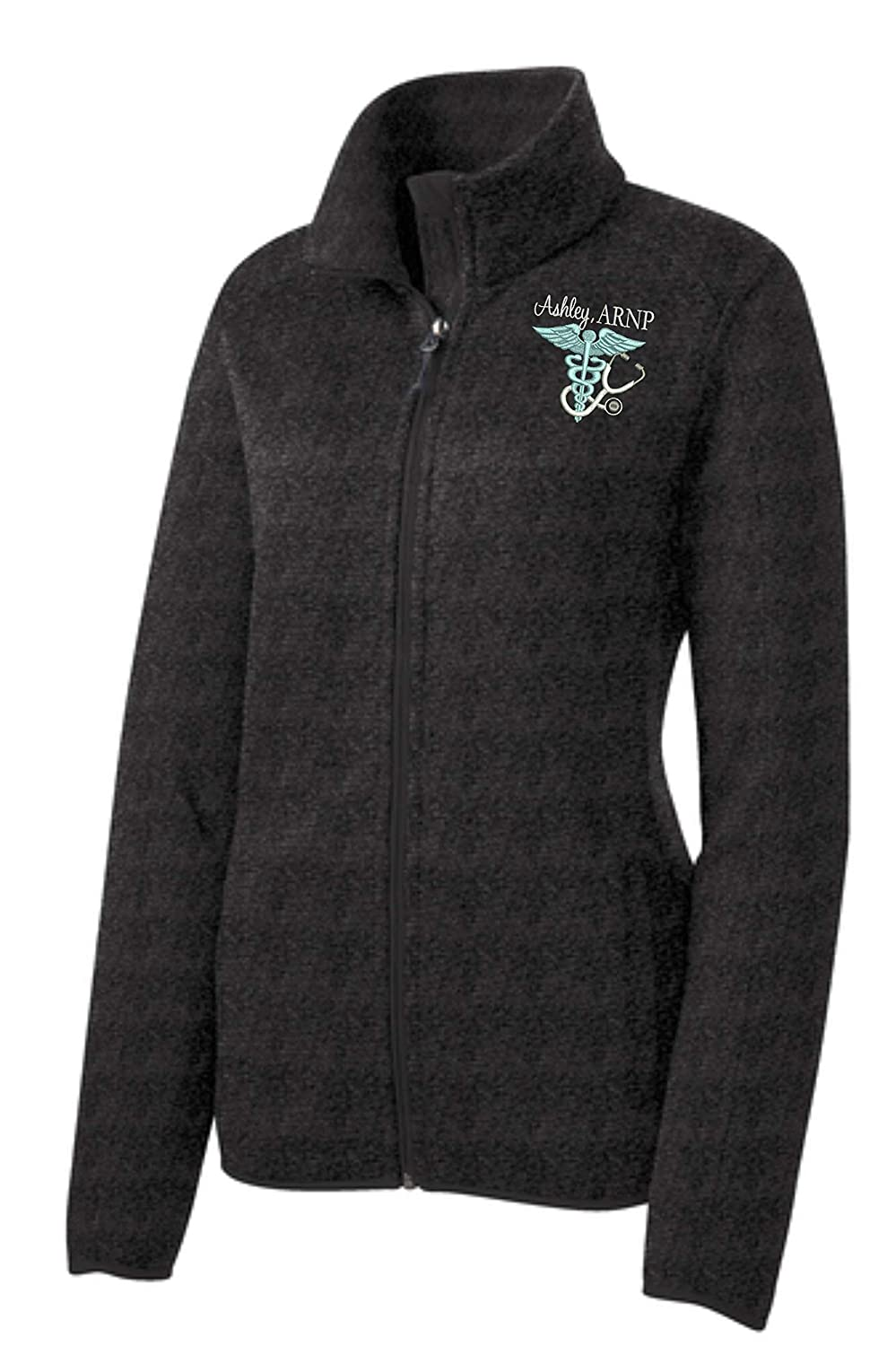 Ladies Personalized Full Zip Limited time Inventory cleanup selling sale for free shipping Nurse Jacket Registered