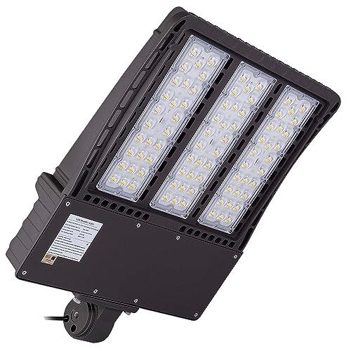1000LED LED Shoebox Pole Light 300W 33,600Lm, 1000W HID/HPS Equal, 5000K