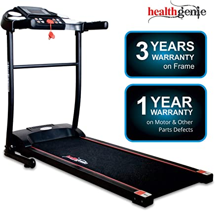 cf2f686d7af55 Healthgenie 3911M 2.5 HP at Peak, Light Weight Foldable Motorized Treadmill  for Home Use &