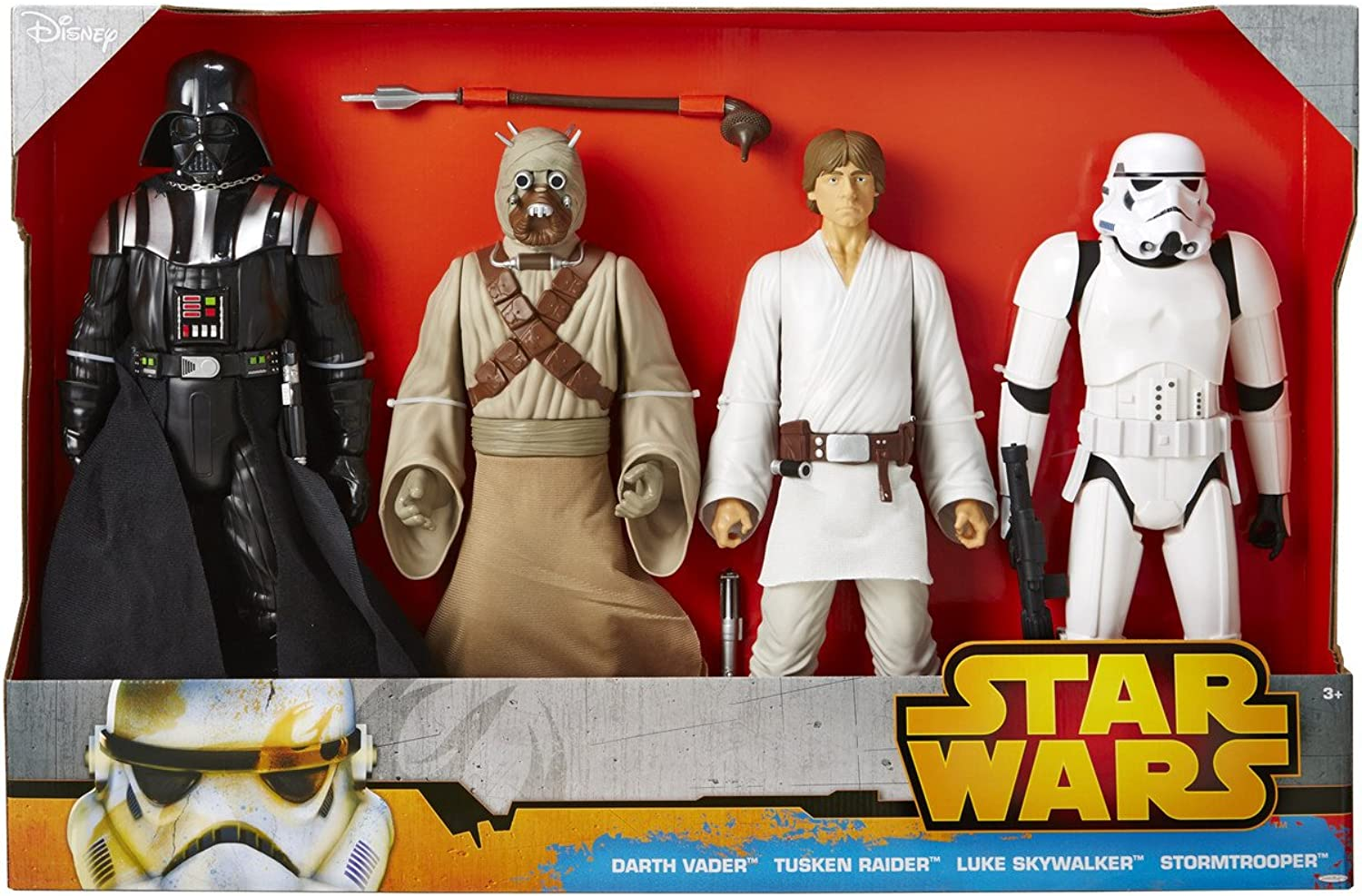 Star Wars 4 Figures Pack 18 Inch  A New Hope