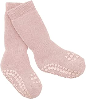 Calcetines antideslizantes GoBabyGo de 6 a 12 meses, rosa polvorienta
