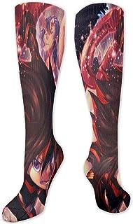shenguang, Calcetines de anime, calcetines deportivos transpirables informales, divertidos calcetines de tubo, regalos de cosplay, calcetines altos ajustados, calcetines de talla única para niños, ni