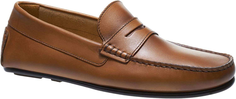Sebago Men's Tirso Penny Leather Leather Tan Loafers  Großhandel
