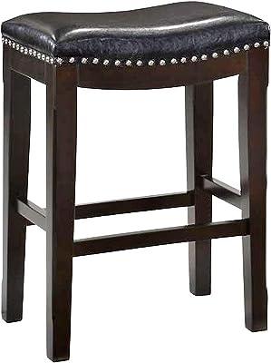 Outstanding Amazon Com Belham Living Hutton Backless Counter Stool Uwap Interior Chair Design Uwaporg