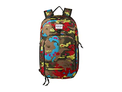 Burton Kids Lunch-N-Pack 35L Backpack (Little Kids/Big Kids) (Bright Birch Camo Print) Backpack Bags