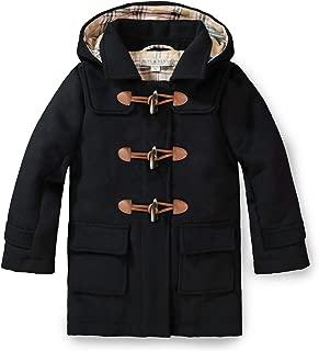 Girls' Toggle Duffle Coat with Detachable Hood