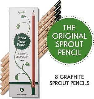 sprout plantable graphite pencils