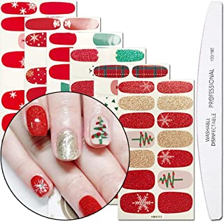 Best christmas nail strips Reviews