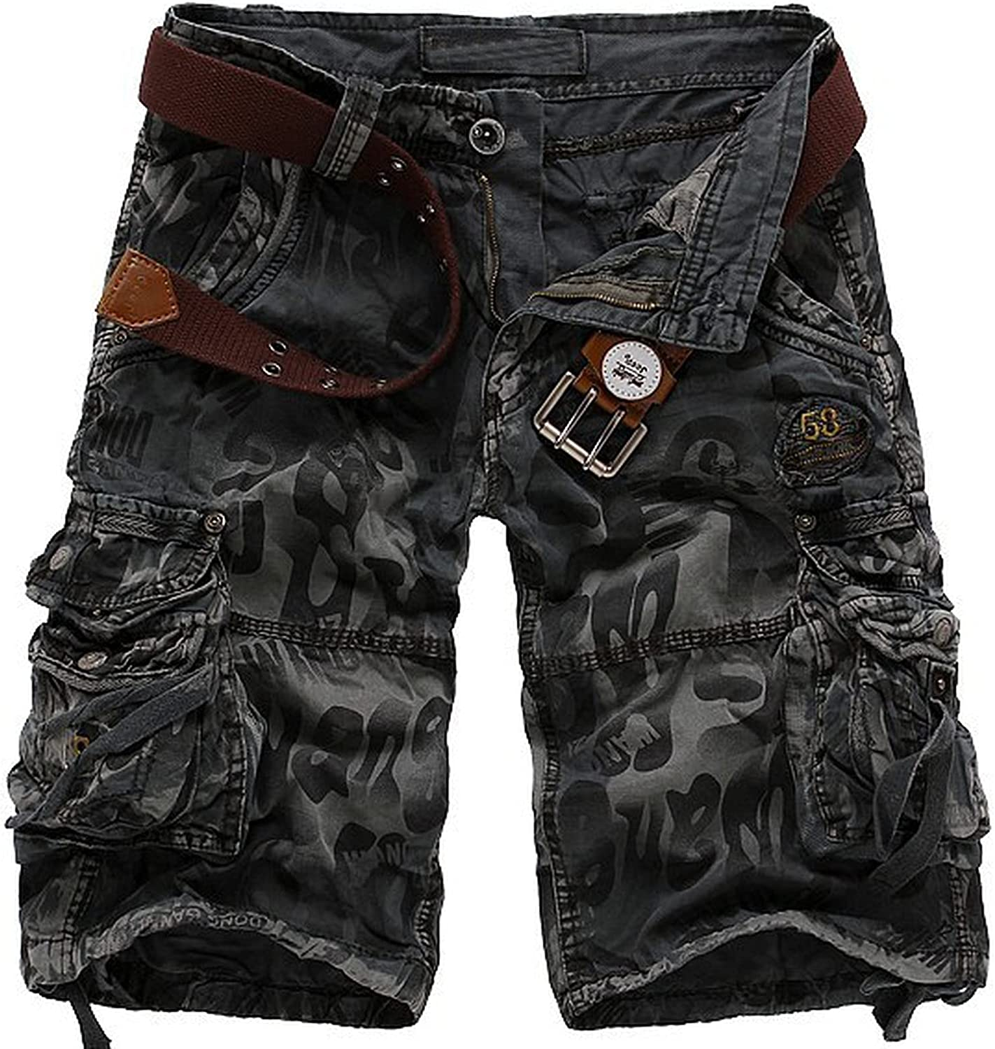Brand new Sukyy New Cargo Short Summer Jeans Militar Shorts Tucson Mall Men Camouflage