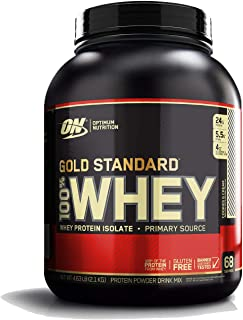 OPTIMUM NUTRITION GOLD STANDARD 100% Whey Protein Powder, Cookies and Cream, 80 Ounce