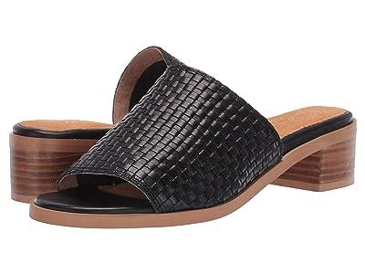 Seychelles Hard to Find (Black Leather) Women