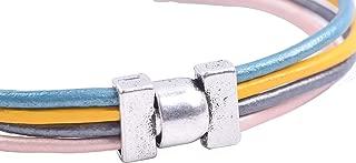 KONMAY 10 Sets 9.0X2.0mm Necklace Bracelet Magnetic Converter Clasps, Antique Silver