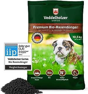 DER SIEGER Veddelholzer Bio Rasendünger 3 Monaten Langzeitwirkung und hohem..