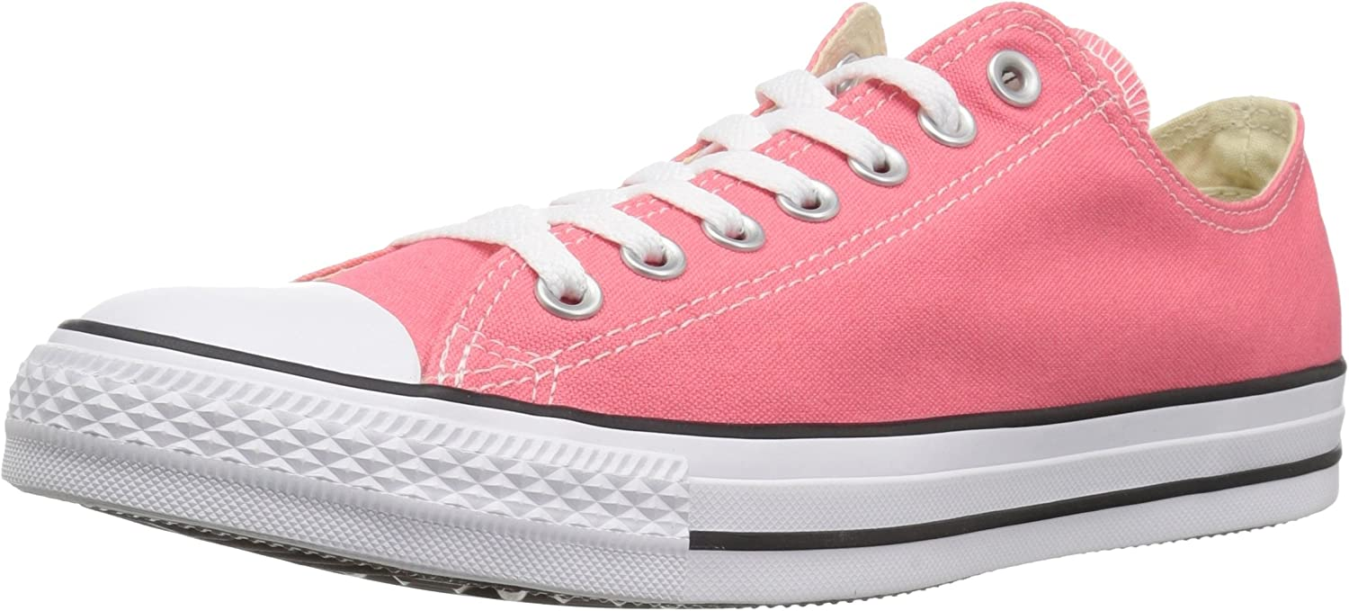 Converse Chuck Taylor All Star 2018 Seasonal Low Top Sneaker, Punch Coral, 3 M US