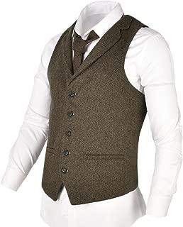 mens tweed vest wedding