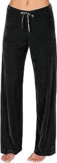 Pajama Pants for Women Soft Plush Velour Cozy Pajama Bottoms