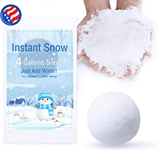 Bigib Make 4 Gallons Fake Instant Snow Powder for Slime Supplies Cloud Slime Charms (4 Gallons)