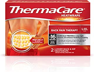 ThermaCare Lower Back Heat Wrap Pack of 2