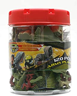 Lanard The Corps Elite Army Playset (120 pieces) Toy