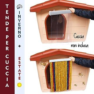 Cortina para caseta Invierno + Verano Tamaño L 50 x 70 H