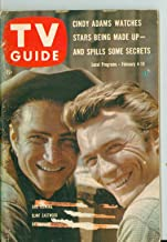 1961 TV Guide Feb 4 Clint Eastwood and Eric Fleming of Rawhide - Lake Ontario Edition Very Good to Excellent (4 out of 10) Used Cond. by Mickeys Pubs