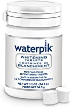 Waterpik Whitening Water Flosser Refill Tablets (Only compatible with Waterpik Whitening Flosser), 30 Count
