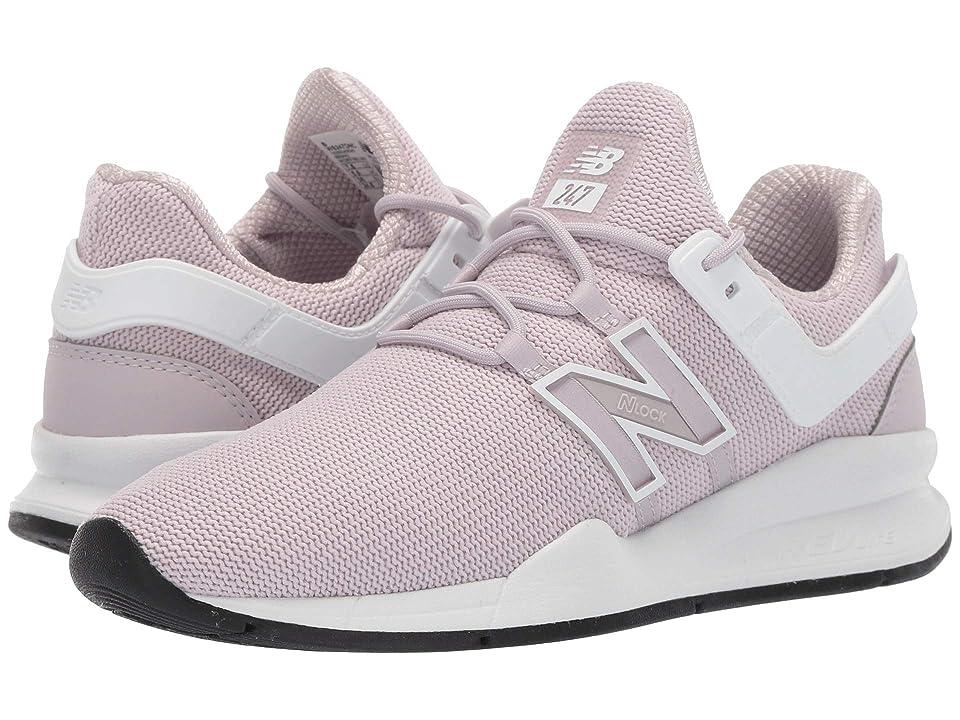 New Balance Classics 247Dv2-USA (Light Cashmere/White) Women's Shoes