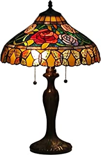 Tiffany Style Table Lamp Banker 23