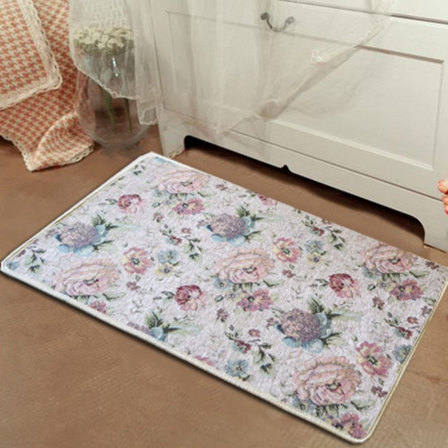 Entrance mats doormat bathroom Kitchen floor mats Living room mat Bedroom door mat at the door-C 80x120cm(31x47inch)