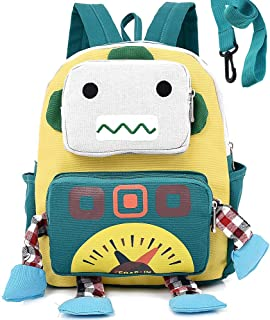 Kid Backpack Animal Robot with Anti Lost Safety Leash Harness Preschool Bookbag