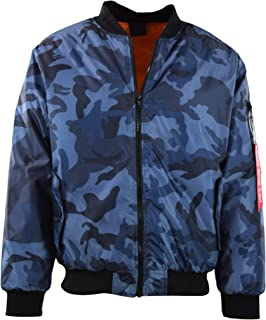 Best blue camo bomber jacket Reviews