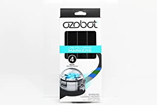 Ozobot Washable Line Following Markers, for Evo and Bit (Black)