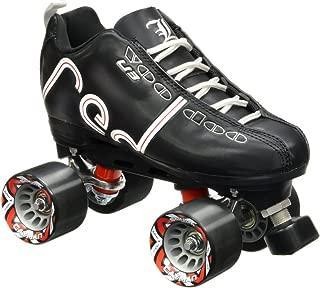 Labeda New Voodoo U3 Quad Roller Speed Skates Customized Black w/Black Cayman Wheels!