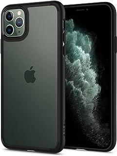 iPhone 11 Pro Max, Spigen Case,TPU and PC, Ultra Hybrid Designed Cover, Matte Black