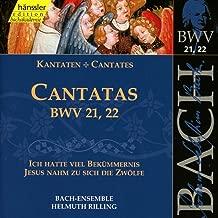 Bach: Cantatas BWV 21-22