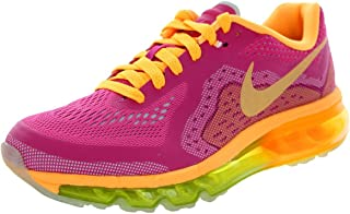 Nike Kids Air Max 2014 (GS) Vivid Pink/Atmc Mng/vnm Grn/Atmc Running Shoe 6.5 Kids US
