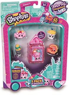 Shopkins Series 8 - Wave 1 - 5 Pack (Random Pack Supplied) (Dispatched From UK)
