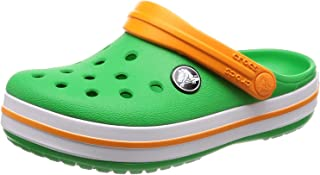 Crocs Kids' Crocband K Clog,Tennis Ball