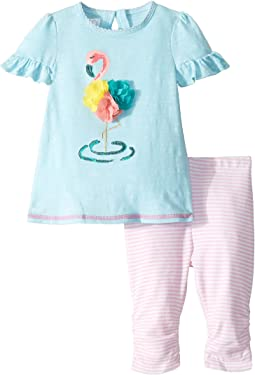 Flamingo Tunic and Capris (Infant)