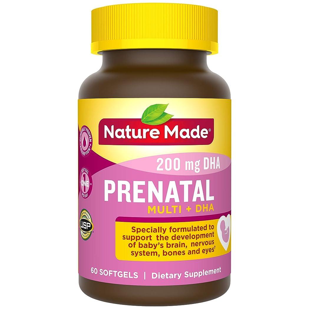 ラグ胃エンジニアNature Made® - Prenatal Multi + DHA - 60 ??????? 海外直送品