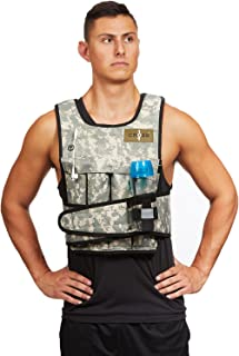 CROSS101 Weighted Vest Arctic/Desert Camouflage 20lbs – 80lbs