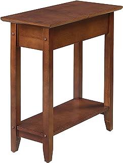 Convenience Concepts American Heritage Flip Top End Table, Mahogany