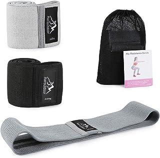comprar comparacion Awroutdoor Bandas de Resistencia Set - Antideslizantes Bandas de Ejercicio Premium, Tela Bandas Elasticas de Fitness para ...