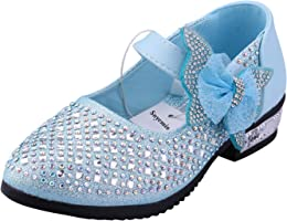 Snyemio Chaussures Princesse Fille Mary Jane Balle