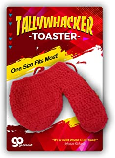 Tallywhacker Toaster Knit Wiener Warmer Funny Gags for Men Naughty Stocking Stuffer for Husband Boyfriend Prank Ideas White Elephant Dirty Santa Winter Willy Gear Valentine's Day