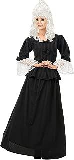 Charades Women's Martha Washington Colonial Woman Costume Dress
