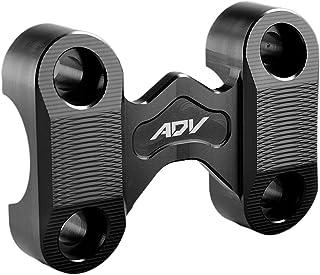 Kesoto Braçadeira de montagem com guidão para ADV 150 2019 2020 - preta, 85 x 55 mm