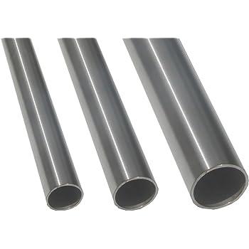 100 cm Rohr 30 x 2 mm Konstruktionsrohr geschliffen V2A 1 m 1000 mm