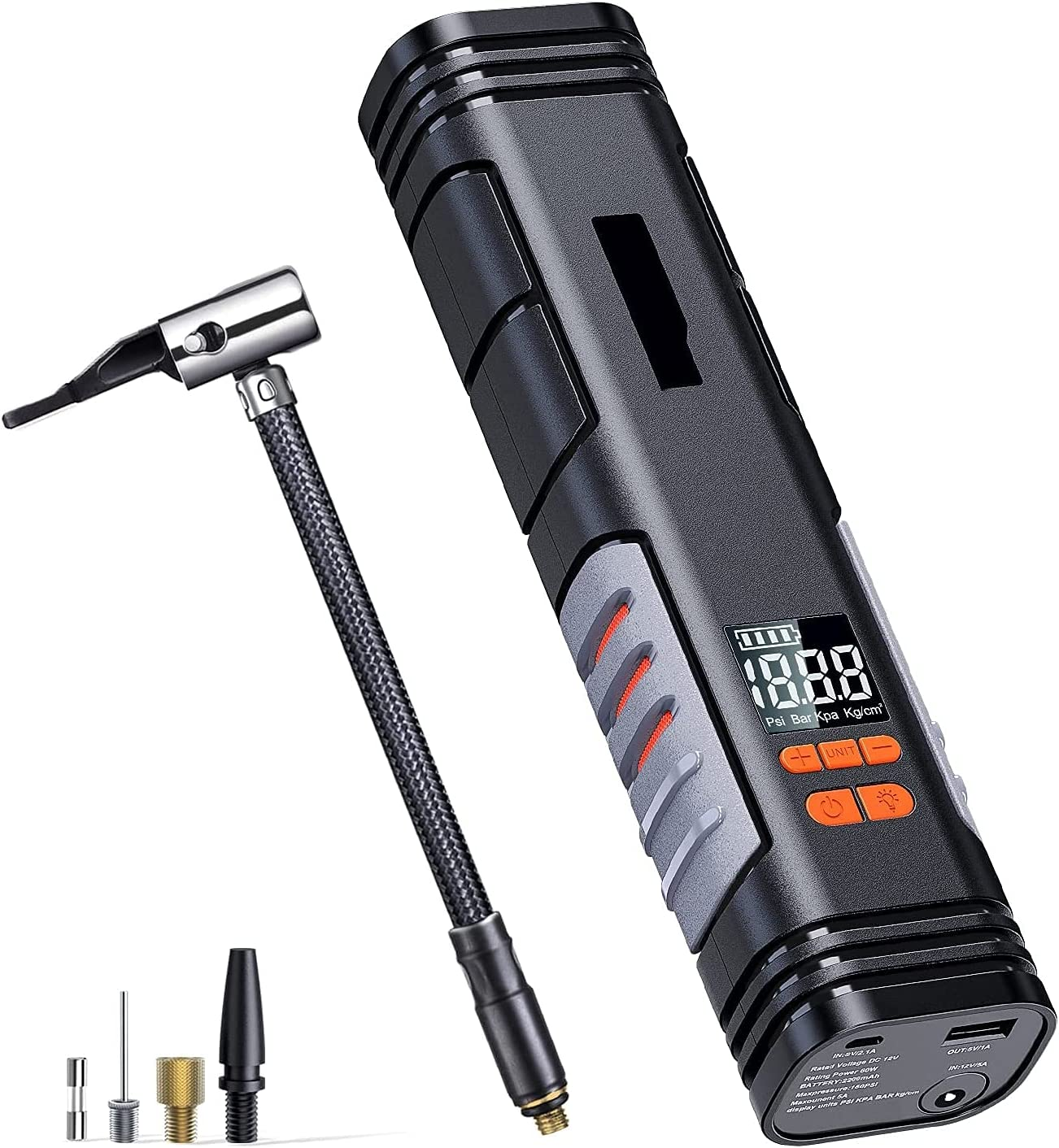 Tire Inflator Outlet ☆ Free Shipping X1 Max 46% OFF Rechargeable - Handheld Cordless